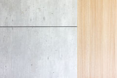Wood and concrete back ground wall. For add text or word Stock Photo