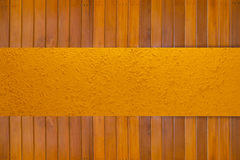 Wood and concrete Stock Photography