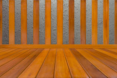 Wood and concrete Stock Photo