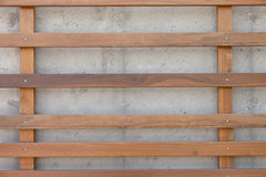 Wood and Concrete Textures Royalty Free Stock Photo