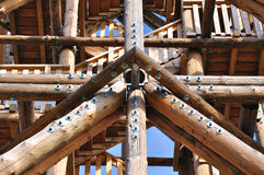 Wood construction Royalty Free Stock Photo