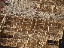 Wood Construction Aerial Stock Images