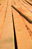 Wood Construction, building boards Stock Image