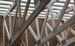 Wood construction royalty free stock images