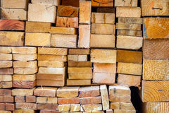 Wood, contrustion material, close up pattern Royalty Free Stock Photos