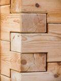Wood corner Stock Photo