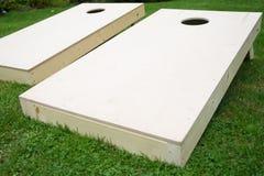 Wood Cornhole Boards Stock Photography