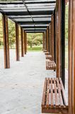 The Long Corridor royalty free stock photography