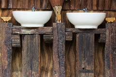 Wood counter sink royalty free stock image