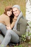Wood Couple Royalty Free Stock Photos