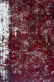 Wood crack red-white grunge texture Stock Photos