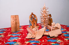 Wood crafts Royalty Free Stock Photography