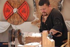 Wood craftsman Stock Photography
