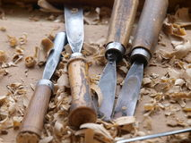 Wood Craftsmanship Stock Photo