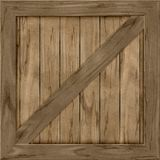 Wood crate generated hires texture Royalty Free Stock Photos