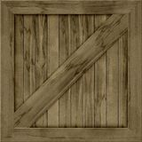 Wood crate generated hires texture Royalty Free Stock Images