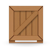 Wood crate Royalty Free Stock Photo