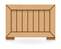 Wood crate Stock Photography