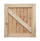 Wood Crate Top Royalty Free Stock Photography