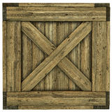 Wood crate Royalty Free Stock Photos