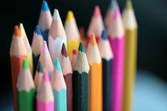Wood crayon Stock Photo