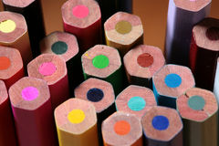 Wood crayon Royalty Free Stock Photography