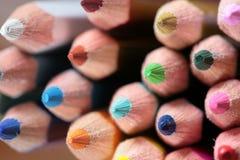 Wood crayon Stock Photography