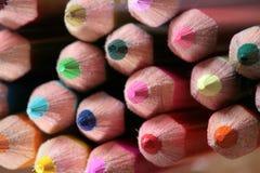 Wood crayon Royalty Free Stock Photos