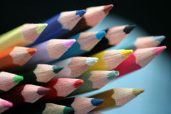 Wood crayon Royalty Free Stock Images