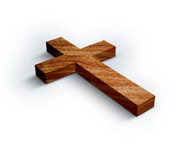 Wood Cross stock photos