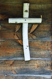 Wood Cross Stock Photography