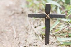 Wood cross or religion symbol shape. Wood cross or religion symbol shape over wood  background for God, Christ, Christianity, religious, faith, holy, spiritual stock photography