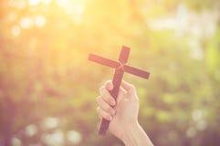 Wood cross or religion symbol shape. Wood cross or religion symbol shape over wood  background for God, Christ, Christianity, religious, faith, holy, spiritual royalty free stock image