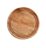 Wood cup holder Royalty Free Stock Images