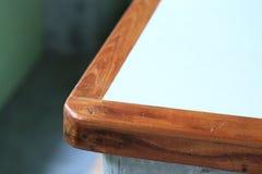 Wood curve corner furniture Stock Images