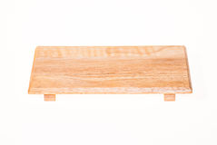 Wood cutting board Royalty Free Stock Photography