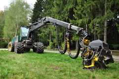 Deforester harvester Stock Images
