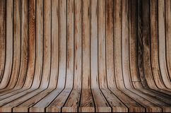 Wood Cyclorama Backdrop. Wooden Background Stock Photography