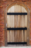 Wood dörr Arkivfoton