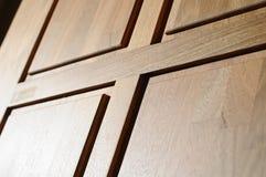 Wood dörr Royaltyfri Foto