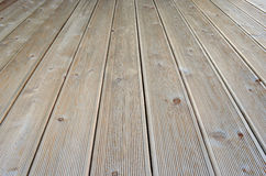 Wood deck Royalty Free Stock Image