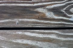 Wood deck. Close up image of weathered wood deck stock images