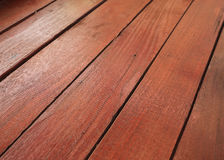Wood deck floor background Royalty Free Stock Image