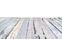 Wood deck wooden board plank. Wood deck, isolated. Old wooden board, plank stock photography