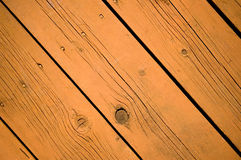 Wood deck pattern Stock Image