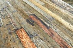 Wood deck pattern. Wooden deck background lumber pattern royalty free stock photo