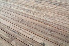 Wood deck Royalty Free Stock Photos