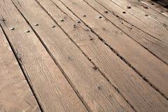 Wood deck Stock Photo
