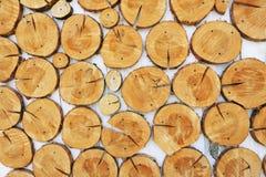 Wood decoration Stock Photography