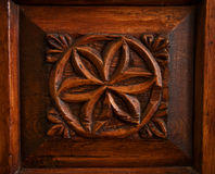 Wood decoration Royalty Free Stock Images